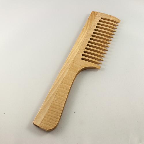 Деревянная расческа с ручкой от интернет магазина FredShop