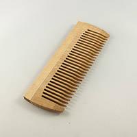 Расческа деревянная однорядная без ручки