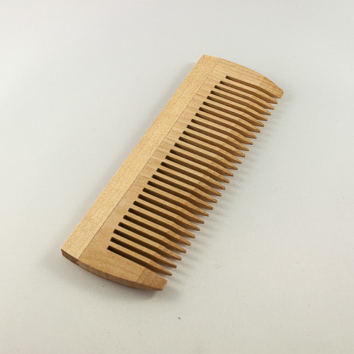 Расческа однорядная, деревяная без ручки от Freda