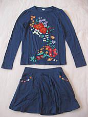 Юбка и реглан для девочки Crazy8 размер XL 14 регланы и юбки, фото 2