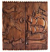 """Нарды, ручная работа, эксклюзив """"Корабль+Пергамент"""""""