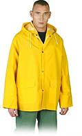 Куртка ПВХ.Куртка водонипронецаемая KPD жёлтый