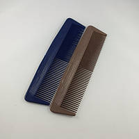 Расческа пластиковая планка однорядная (уп. 10 шт.), фото 1