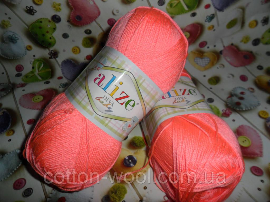 Alize Diva Baby (Дива Беби) 23 100% микрофибра акрил