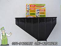 Лоток, пластиковый загрузочный бункер для зерна измельчителя Еликор