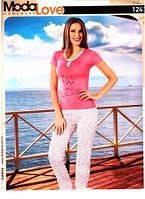 Цветочная женская пижама хорошего качества Одежда для дома