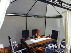 Павильон садовый Swing & Harmony 3x4 м. кремовый цвет, фото 2