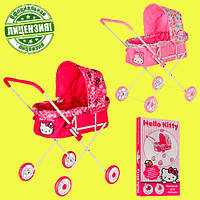 Модная коляска для куклы Хелоу Китти