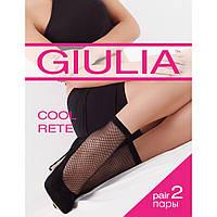 Женские носочки в сеточку