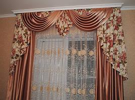 Услуги по разработке дизайна и пошиву штор