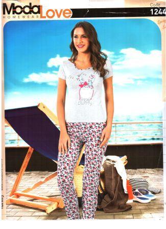 Пижама женская Snow Bunny Зайчик - Интернет-магазин