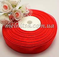 Лента из органзы, 2,5 см, цвет красный №26