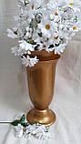 Ромашка мелкая, 7 цв.на ветке, в-42 см (10\6) (цена за 1 шт. + 4 гр.) , фото 2