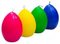 """""""Пасхальное яйцо"""" - разноцветные свечи в виде яйца"""