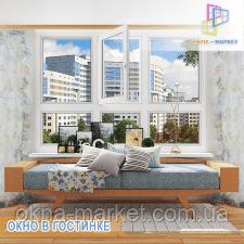Застеклить французский балкон Киев цена