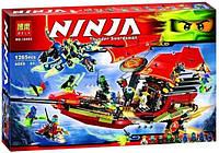 Конструктор Bela Ninja 10402 Решающая битва корабля Дар Судьбы, 1265дет.