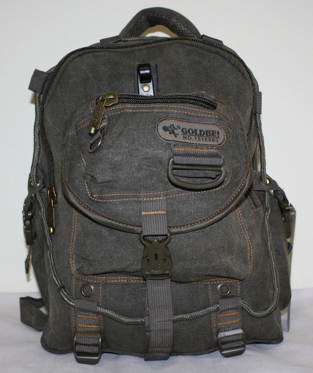 Городской повседневный рюкзак хаки средний