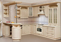 Кухня Валенсия угловая клен