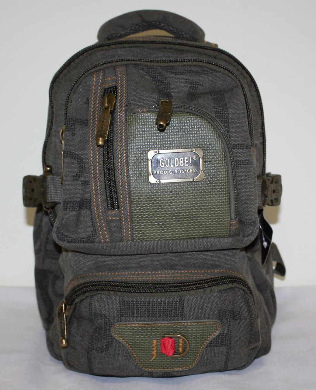 Городской повседневный рюкзак хаки маленький