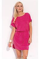 Платье-туника летняя малинового цвета Zaps Sabra