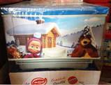 Комод пластиковый Еlif, с рисунком Маша и медведь зимой. Производство Турция., фото 5