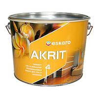 Матовая краска Eskaro Akrit 4, 9.5л
