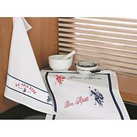 Набор кухонных полотенец U.S. Polo Assn - Berkeley белый 50*70-2 шт
