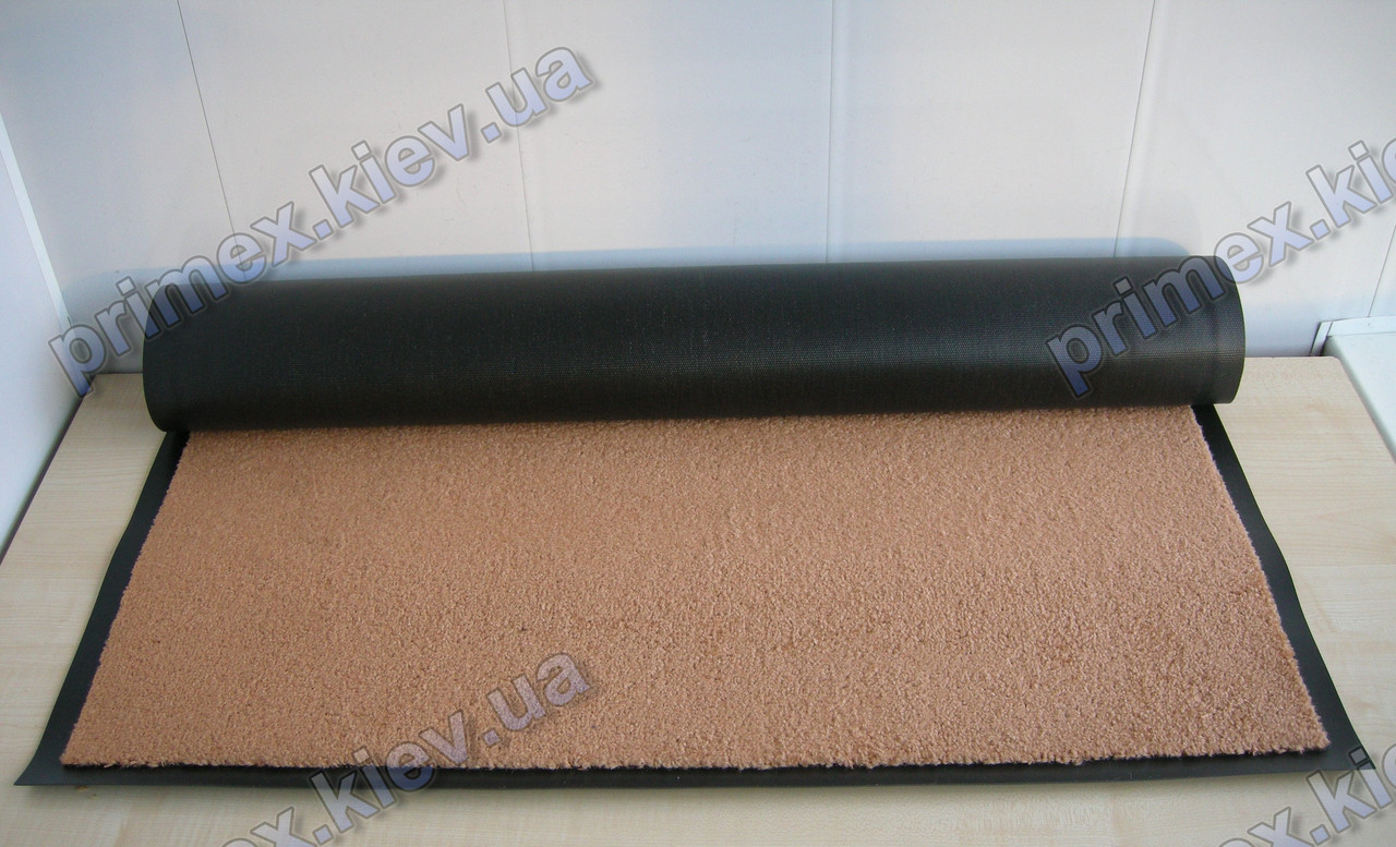 Коврик грязезащитный Элит 90х120см., цвет бежевый