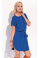 Платье-туника летняя синего цвета Zaps Sabra