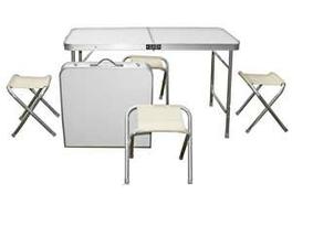 Набор мебели алюминиевый для пикника, фото 2