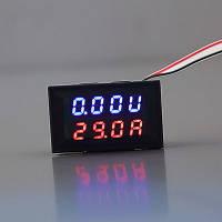 Цифровой вольтметр-амперметр DC 0-100 В/0-50A