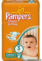 Подгузники Pampers Sleеp&Play 3 (4-9 кг) 58 шт.