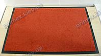 Коврик грязезащитный Элит 60х90см., цвет оранжевый