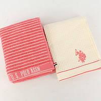 Набор кухонных полотенец U.S. Polo Assn - Sturgis розовый 50*70-2 шт