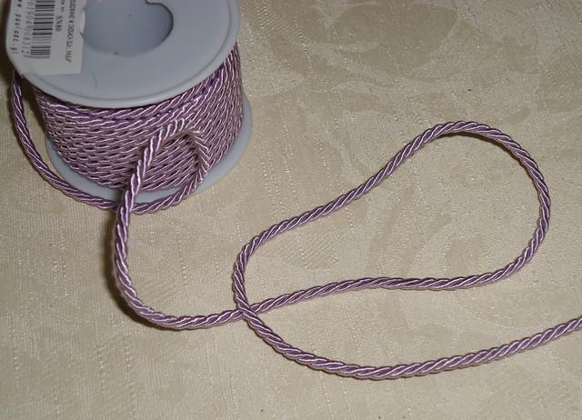Шнурки шелковые