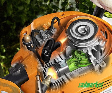 Запасные части к мотоножницам STIHL