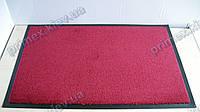 Коврик грязезащитный Элит 60х90см., цвет красный темный