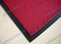 Коврик грязезащитный Элит 90х120см., цвет красный темный