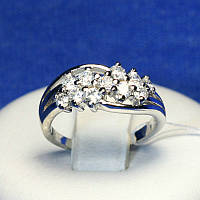 Серебряное кольцо с цирконом Венера 4810-р, фото 1