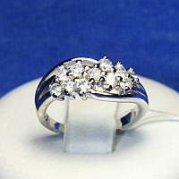 Серебряное кольцо с белым цирконом Венера 4810-р