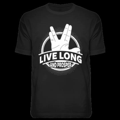 Футболка «Live Long»
