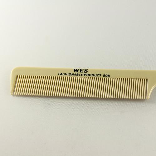 густые зубья на расческе для расчесывания редких и коротких волос