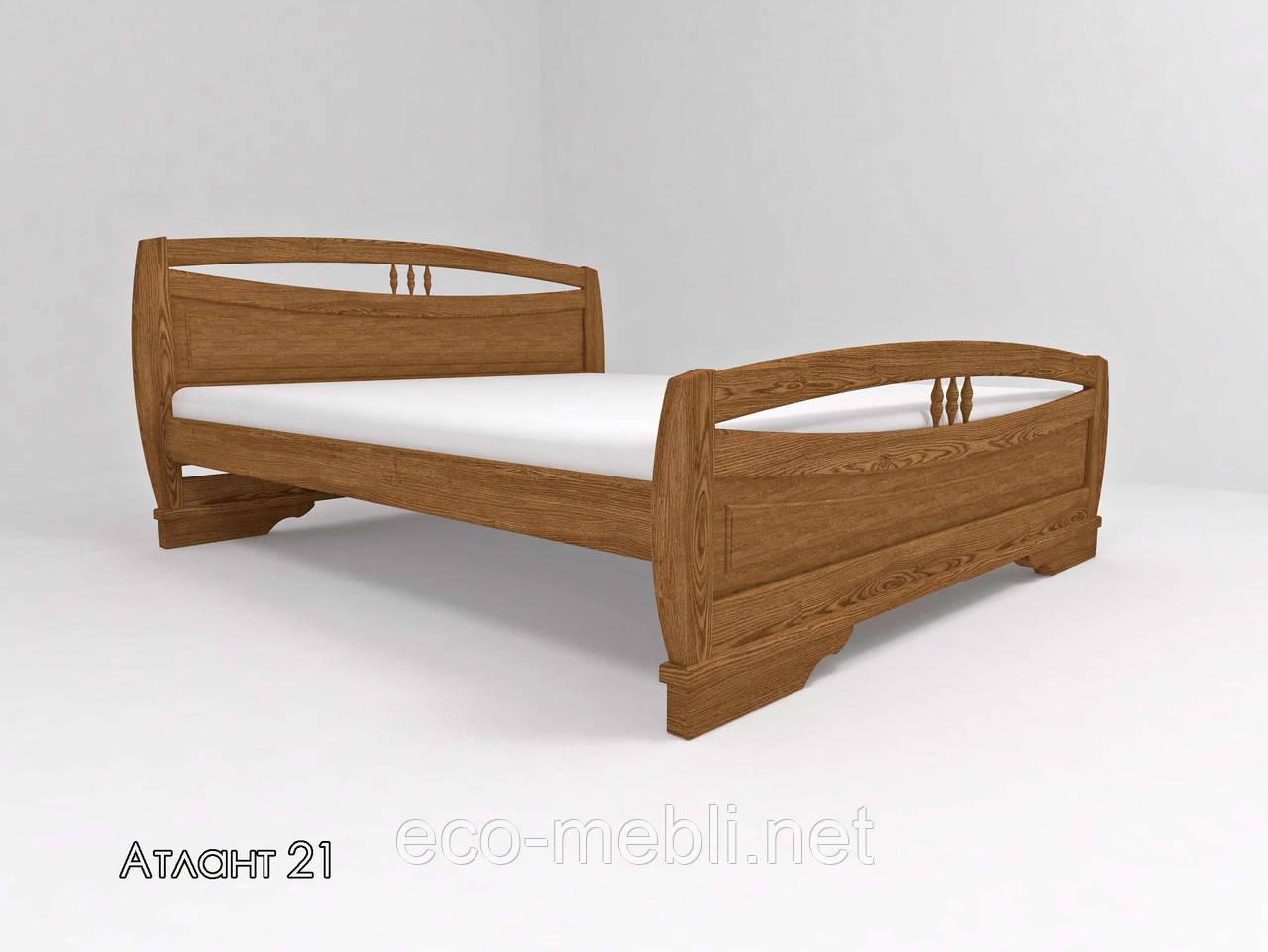 """Двоспальне ліжко ТИС """"АТЛАНТ 21"""""""