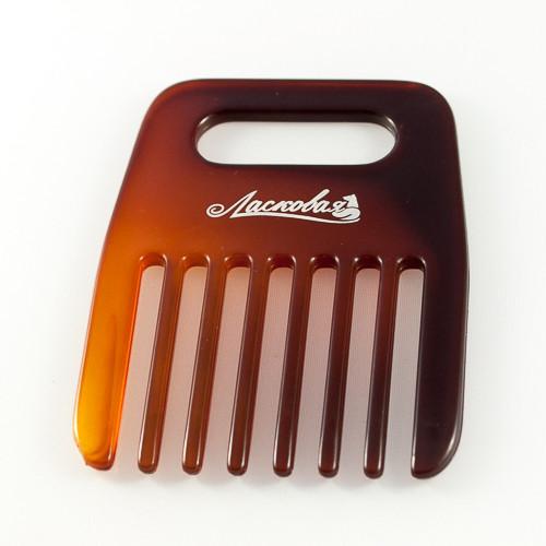 """расческа фирмы """"Ласковая"""" для длиных волос"""