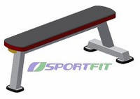 Скамья горизонтальная Sport Fit (1101)