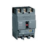 Автоматический выключатель Hager h250, In=40А, 3п, 50kA, LSI