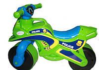 Мотобайк Полиция, салатовый, МУЗЫКАЛЬНЫЙ