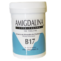 Амигдалин, Витамин В-17 (500мг), B-17, 100 табл.