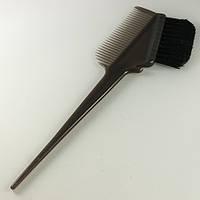 Кисточка для покраски с волнистым ворсом и расческой, фото 1