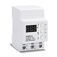 Реле напряжения ZUBR D40t 40А (max 50 А) 8800 ВА с термозащитой
